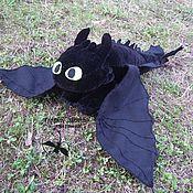 """Куклы и игрушки handmade. Livemaster - original item Night fury """"How to Train Your Dragon"""". Handmade."""