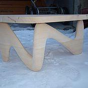 Для дома и интерьера handmade. Livemaster - original item Triangular table of solid cedar a Compromise. Handmade.