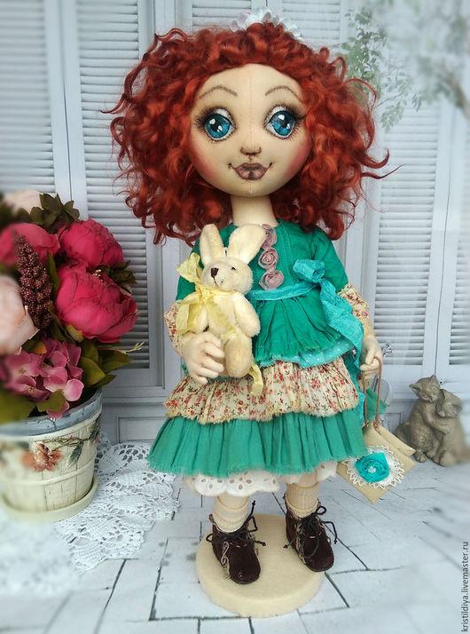 Коллекционные куклы ручной работы. Ярмарка Мастеров - ручная работа. Купить Кукла текстильная интерьерная коллекционная Маринка. Art doll. Handmade.