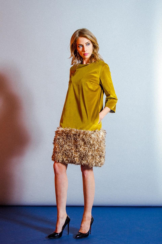 Съемная юбка на платье своими руками