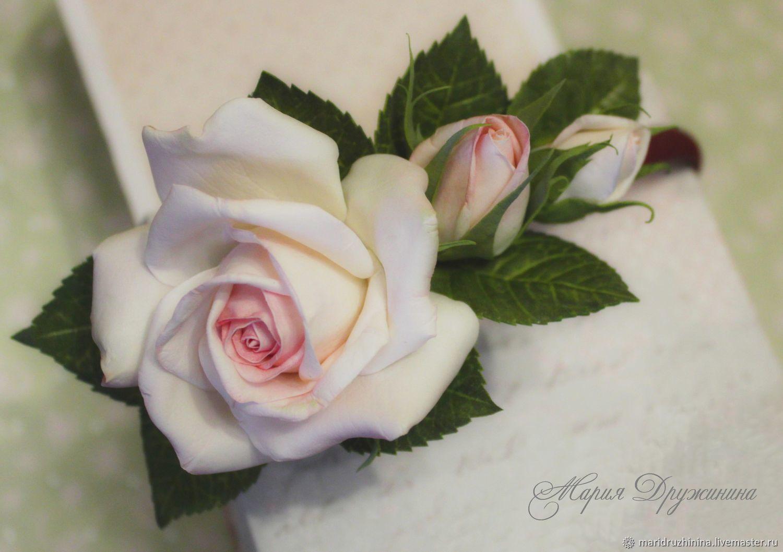 Ободок для волос с розами из фоамирана, Диадемы, Барнаул, Фото №1