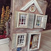 Куклы и игрушки handmade. Livemaster - original item Suitcase with old fairy tales (Dollhouse). Handmade.