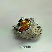 Украшения ручной работы. Ярмарка Мастеров - ручная работа кольцо с опалом ...   .  Ну давай у листьев спросим..... Handmade.