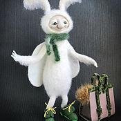 Куклы и игрушки handmade. Livemaster - original item felt toy: Mol. Handmade.