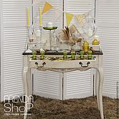 Для дома и интерьера ручной работы. Ярмарка Мастеров - ручная работа Винтажный стол-бюро. Handmade.