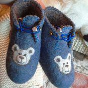 Обувь ручной работы. Ярмарка Мастеров - ручная работа Валеночки маленькие. Handmade.