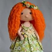 """Куклы и игрушки ручной работы. Ярмарка Мастеров - ручная работа Текстильная кукла """"Юля"""". Handmade."""