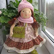 """Куклы и игрушки ручной работы. Ярмарка Мастеров - ручная работа Вальдорфская кукла """"Дина"""" 40см.. Handmade."""