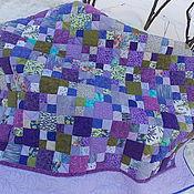 """Одеяла ручной работы. Ярмарка Мастеров - ручная работа Одеяло-покрывало лоскутное """"Лавандовая дрёма"""". Handmade."""