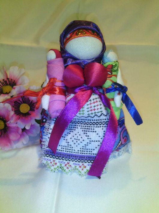 Народные куклы ручной работы. Ярмарка Мастеров - ручная работа. Купить Кукла оберег, Мамушка. Handmade. Кукла ручной работы