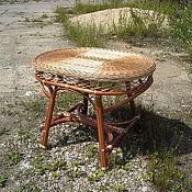 Для дома и интерьера ручной работы. Ярмарка Мастеров - ручная работа Стол плетеный  обеденный. Handmade.