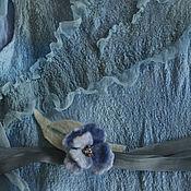 Работы для детей, ручной работы. Ярмарка Мастеров - ручная работа Платье для девочки из Шелка и Шерсти. Handmade.