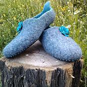 Обувь ручной работы. Ярмарка Мастеров - ручная работа Тапочки валяные. Handmade.