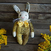 Куклы и игрушки ручной работы. Ярмарка Мастеров - ручная работа заяц Паскуаль. Handmade.