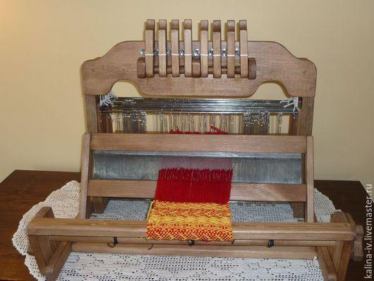 Другие виды рукоделия ручной работы. Ярмарка Мастеров - ручная работа. Купить ткацкий станок 8-ремизный настольный. Handmade.