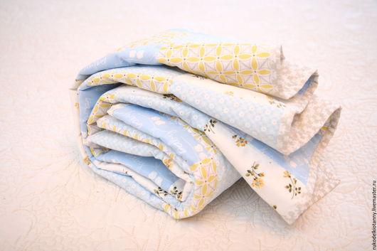 Пледы и одеяла ручной работы. Ярмарка Мастеров - ручная работа. Купить Лоскутное покрывало детское. Handmade. Текстиль для детской, одеялко
