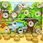 Куклы и игрушки handmade. Livemaster - original item Educational Tablet Covers
