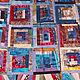 Одеяло лоскутное мозаичное шелковое, Принадлежности, Санкт-Петербург, Фото №1