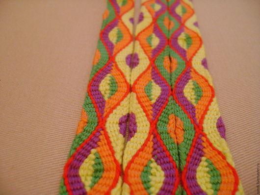 """Пояса, ремни ручной работы. Ярмарка Мастеров - ручная работа. Купить Пояс кумихимо """"Клоун"""". Handmade. Плетенный пояс, клоун"""
