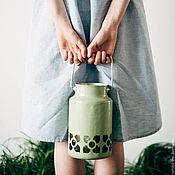Одежда ручной работы. Ярмарка Мастеров - ручная работа Свободное платье со складкой на спине. Handmade.