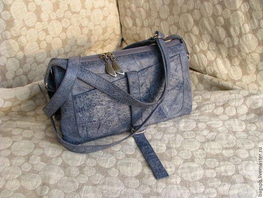 Женские сумки ручной работы. Ярмарка Мастеров - ручная работа. Купить сумочка - клатч из натуральной кожи под джинсу. Handmade.
