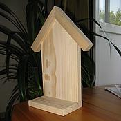 Материалы для творчества ручной работы. Ярмарка Мастеров - ручная работа Домик деревянный на подставке. Handmade.