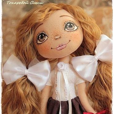 """Куклы и игрушки ручной работы. Ярмарка Мастеров - ручная работа Девочка """"Школьная пора"""". Handmade."""