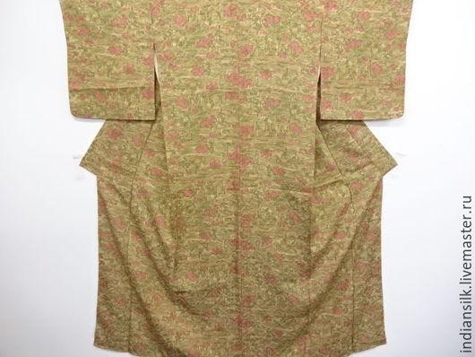 Одежда. Ярмарка Мастеров - ручная работа. Купить ШОК-ЦЕНАВинтажное кимоно из натурального шелка. Handmade. Комбинированный, чайная церемония