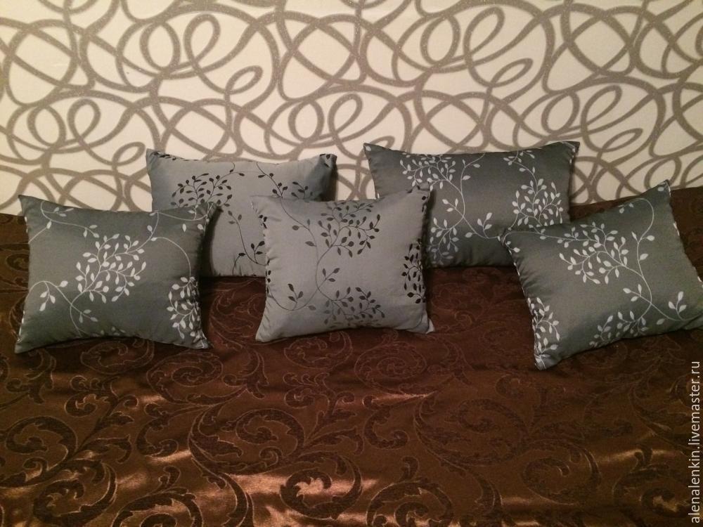 Оригинальная подушка мастер класс