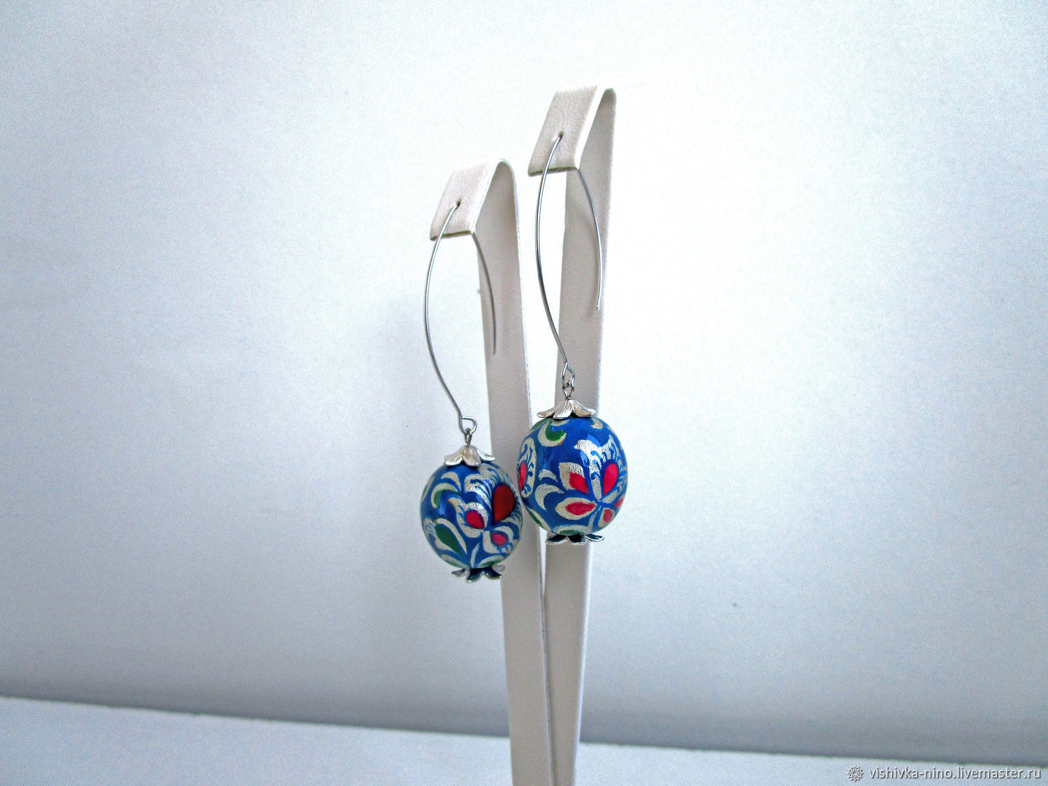 Earrings snow Queen, Earrings, Nizhny Novgorod,  Фото №1