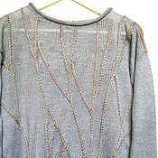 """Одежда ручной работы. Ярмарка Мастеров - ручная работа Джемпер """"Серебрянный бор"""". Handmade."""
