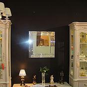 Для дома и интерьера ручной работы. Ярмарка Мастеров - ручная работа Зеркало в мозаичной раме серебряное. Handmade.