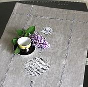 Для дома и интерьера handmade. Livemaster - original item Track 3 of the Kuban natural linen color. Handmade.