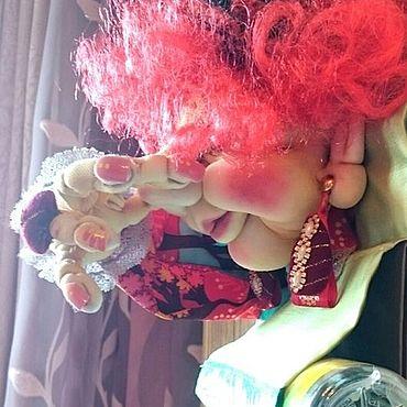 Сувениры и подарки ручной работы. Ярмарка Мастеров - ручная работа Мадам фу-фу  /держатель для туалетной комнаты/. Handmade.