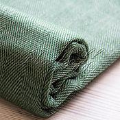 Аксессуары handmade. Livemaster - original item Italian green tweed stole