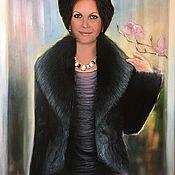 Картины и панно ручной работы. Ярмарка Мастеров - ручная работа Портрет N. Handmade.
