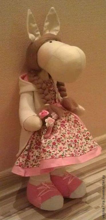"""Куклы и игрушки ручной работы. Ярмарка Мастеров - ручная работа. Купить Набор для шитья куклы """"Лошадка стоячая"""". Handmade. Лошадка"""