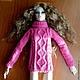 Одежда для кукол ручной работы. Ярмарка Мастеров - ручная работа. Купить Джемпер для куклы формата FR16, Avantguards, Poppy Parker. Handmade.