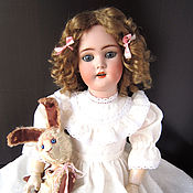 Куклы и игрушки ручной работы. Ярмарка Мастеров - ручная работа Антикварная кукла SIMON & HALBIG 1078. Handmade.