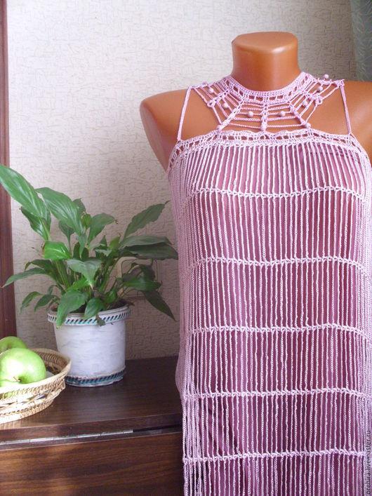 """Платья ручной работы. Ярмарка Мастеров - ручная работа. Купить Платье  """"Розовый дождь"""". Handmade. Платье коктейльное, дождь"""
