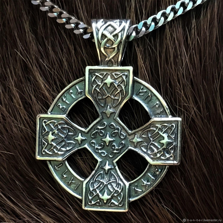 кельтский крест ( 3,5 см ), Народные украшения, Кострома, Фото №1