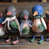 Куклы и игрушки ручной работы. Ярмарка Мастеров - ручная работа Птичий базар. Handmade.