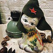 Для дома и интерьера ручной работы. Ярмарка Мастеров - ручная работа Котиш-Кибальчиш, керамика. Handmade.