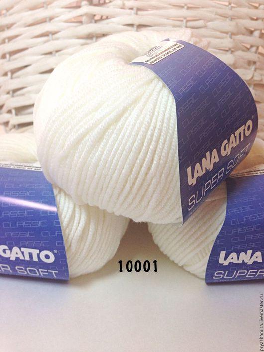 Вязание ручной работы. Ярмарка Мастеров - ручная работа. Купить Lana Gatto Super Soft (Италия). Handmade. Пряжа