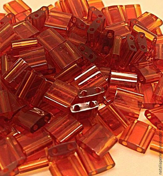 Для украшений ручной работы. Ярмарка Мастеров - ручная работа. Купить Миюки ТИЛА 134 transparent dark amber 10гр. Handmade.