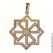 Amulet handmade. Livemaster - original item Molvinets gold. Handmade.