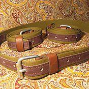 Субкультуры handmade. Livemaster - original item The waist belt of the red army arr. 1941.. Handmade.