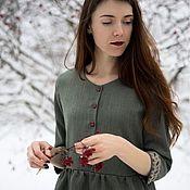Одежда ручной работы. Ярмарка Мастеров - ручная работа Платье Калина. Handmade.