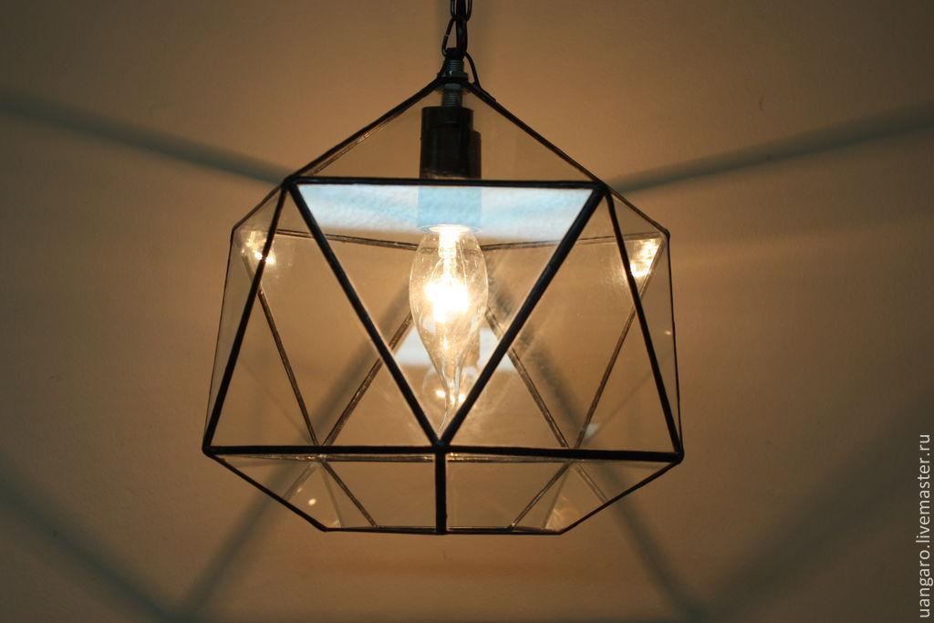 3д светильники своими руками из стекла