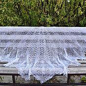 Аксессуары handmade. Livemaster - original item Shawl-shawl pearl color. Handmade.